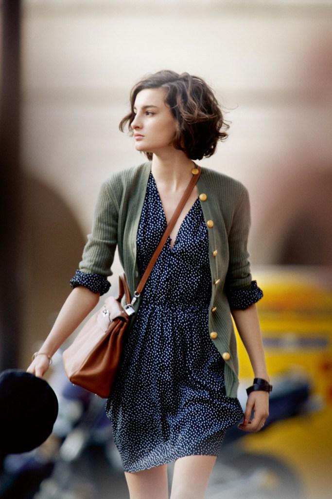 Платье во французском стиле