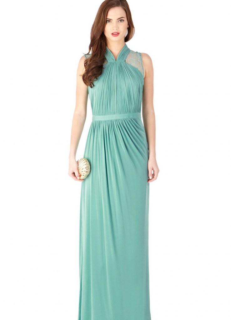 Вечернее платье во французском стиле
