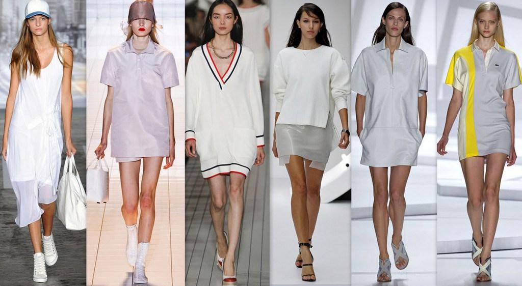 Спортивно-классические женские платья