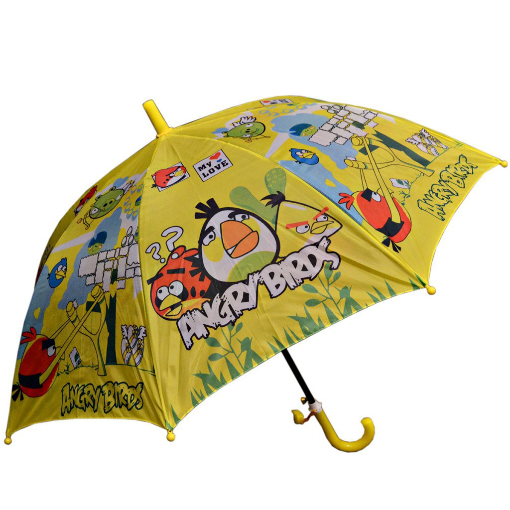 Детский зонтик angry birds