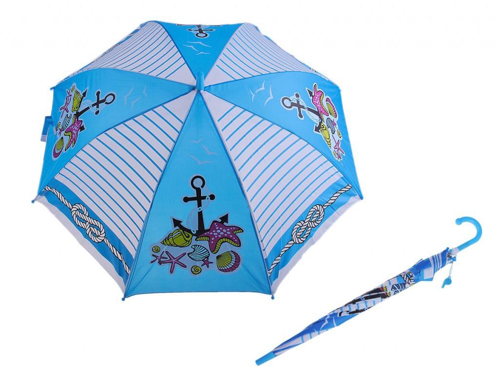 Модный детский зонтик для мальчиков морской