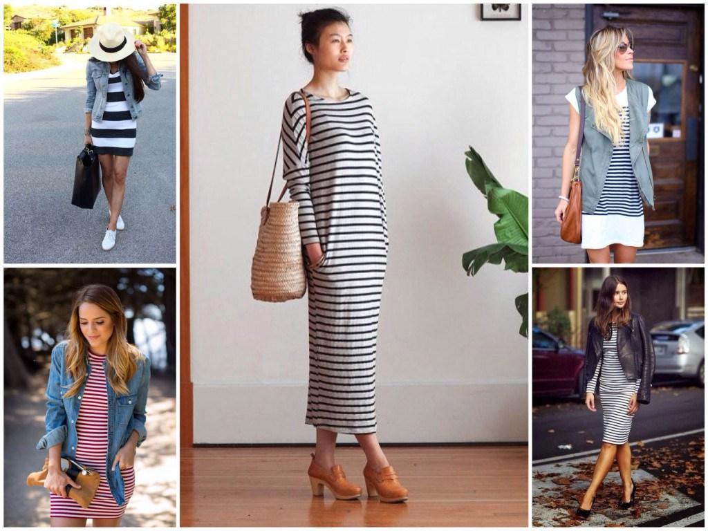 Женские образы в одежде морского стиля