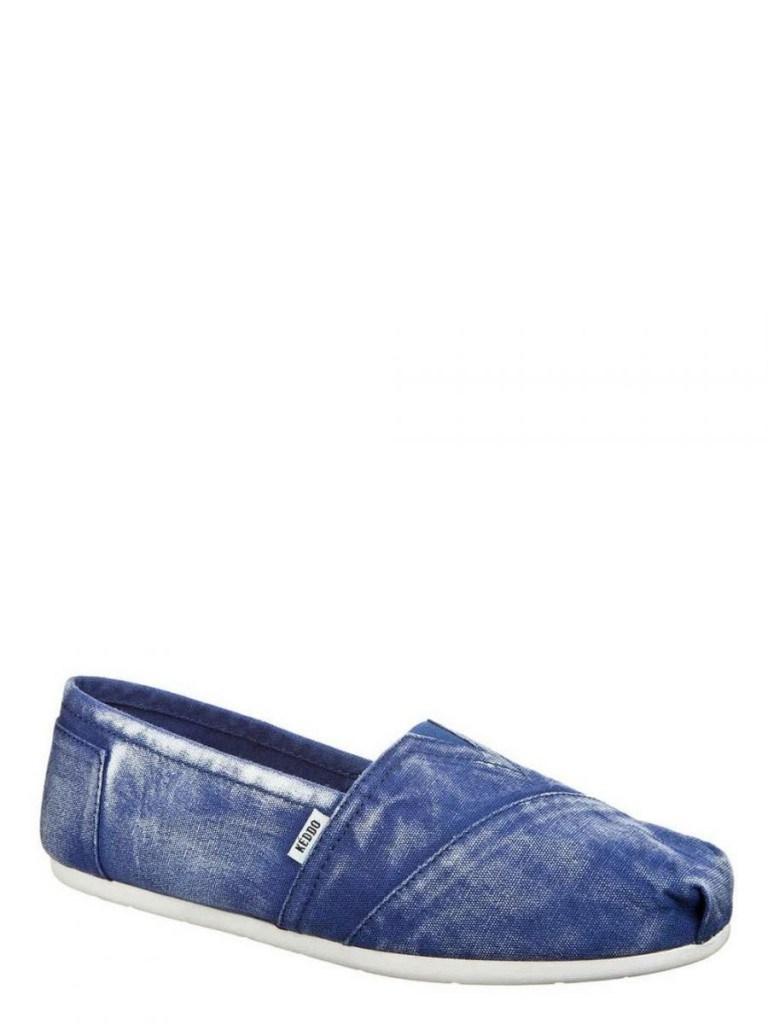Мужские джинсовые мокасины