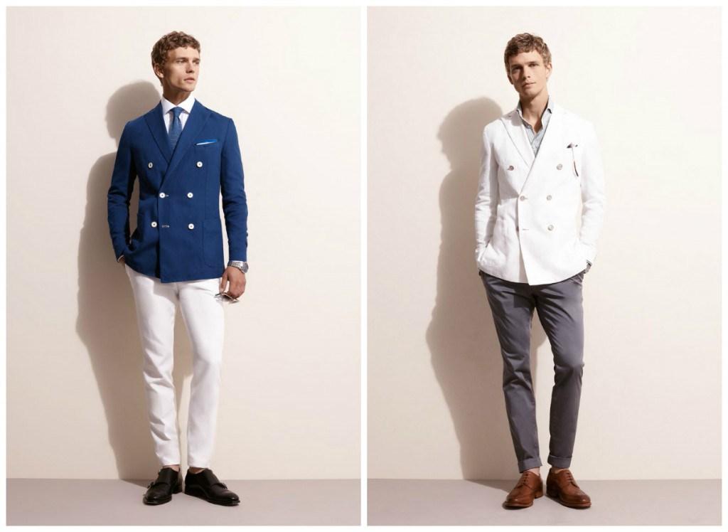 Летние варианты классического мужского костюма