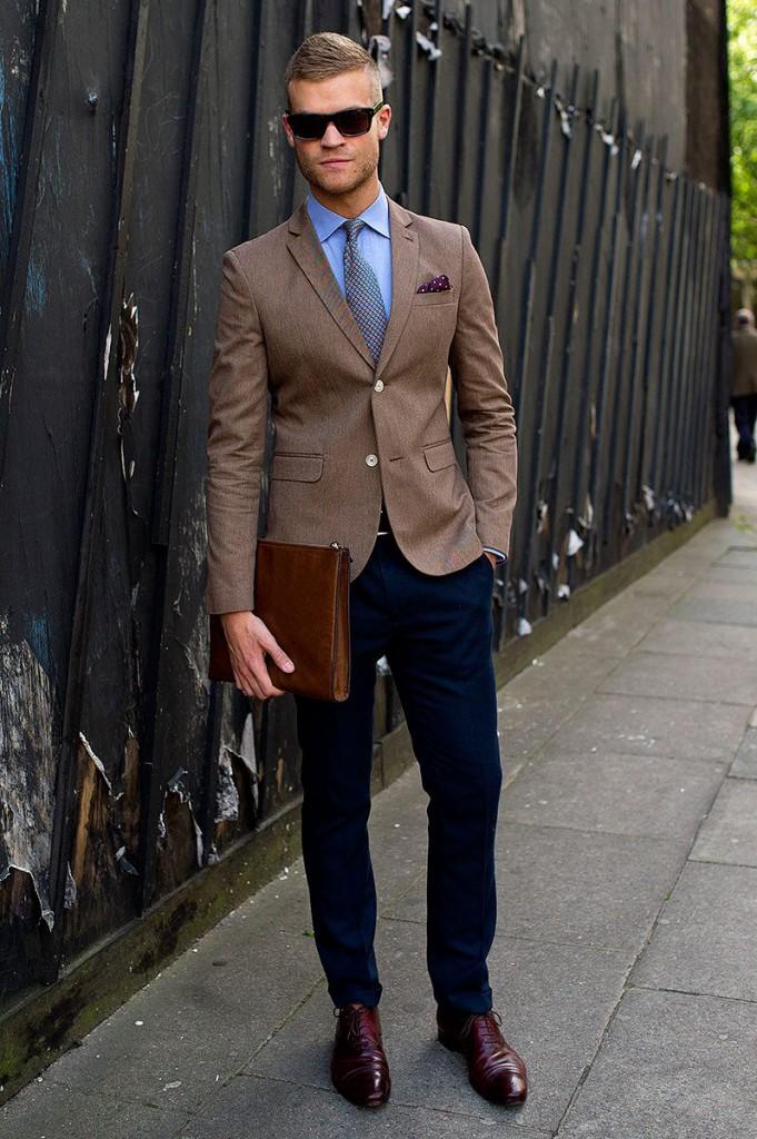 Модный мужской наряд в стиле casual