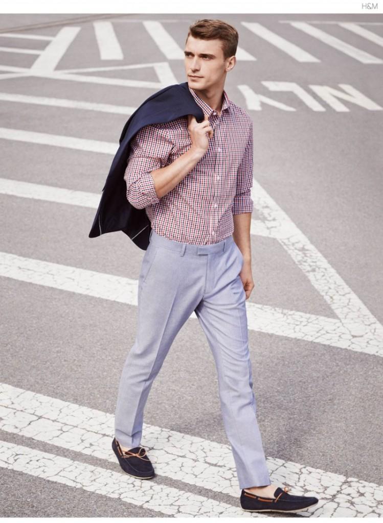 Легкий мужской наряд в стиле casual