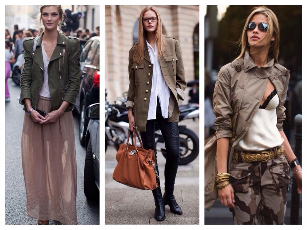 Пальто и куртки в стиле милитари