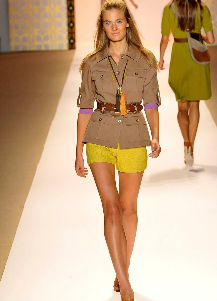 Жакет и шорты в стиле сафари