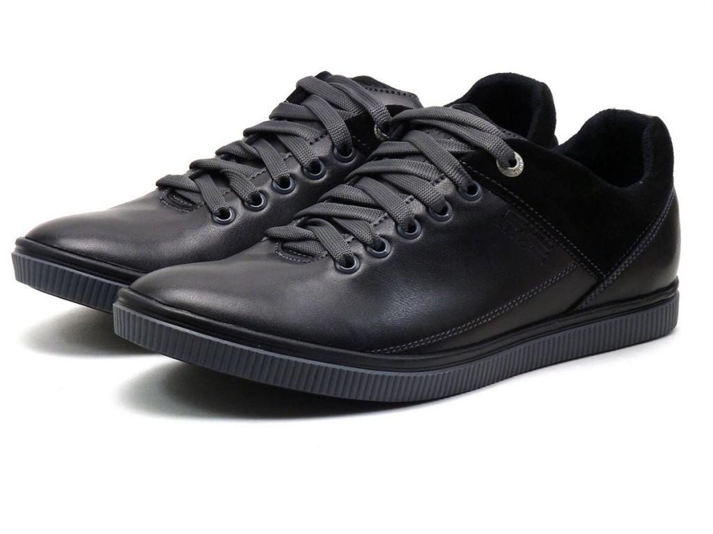 Черные спортивные мужские туфли