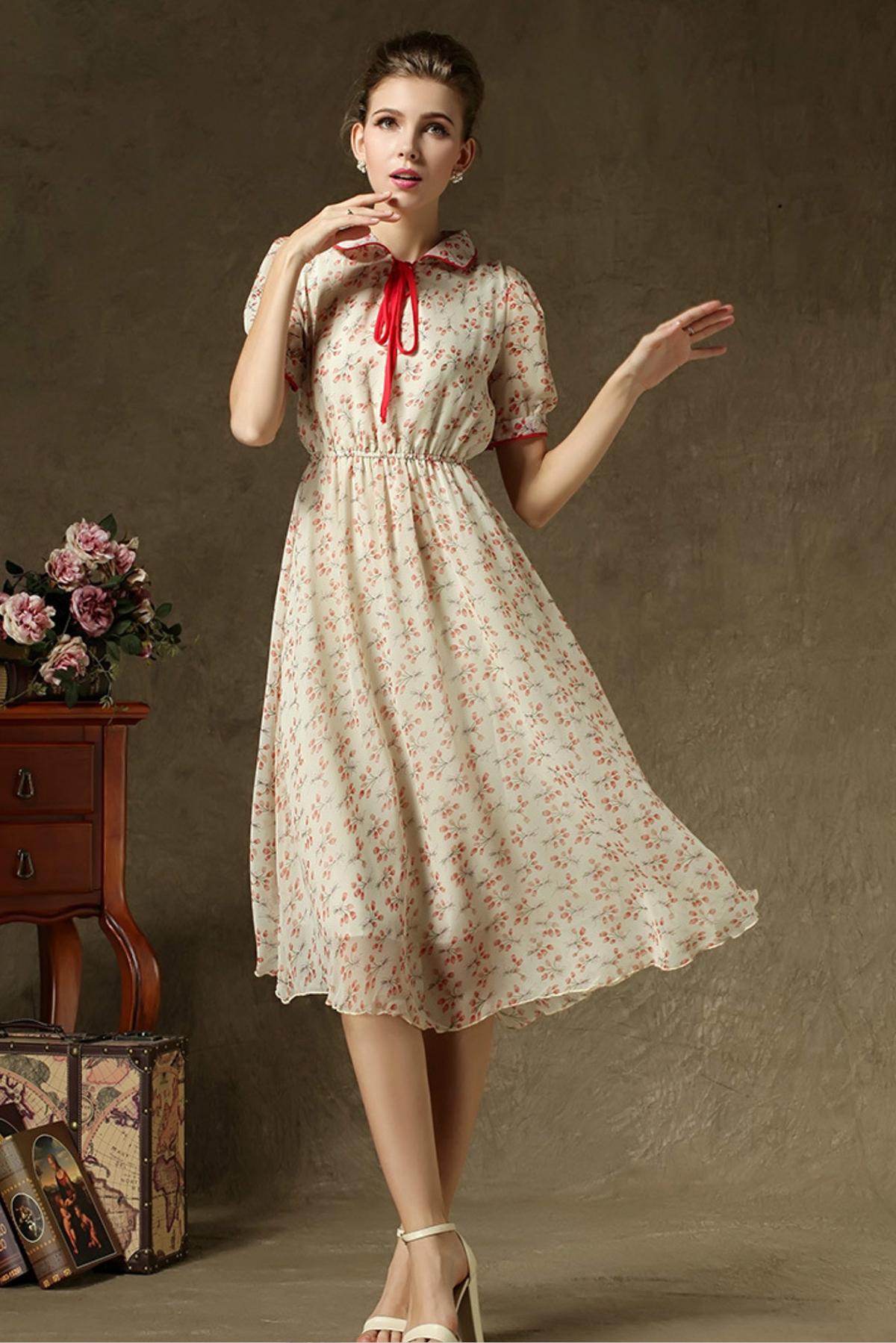 Платье в стиле кантри сшить