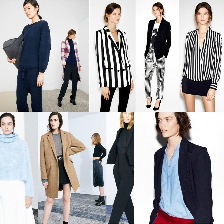 Варианты женской одежды в стиле минимализм