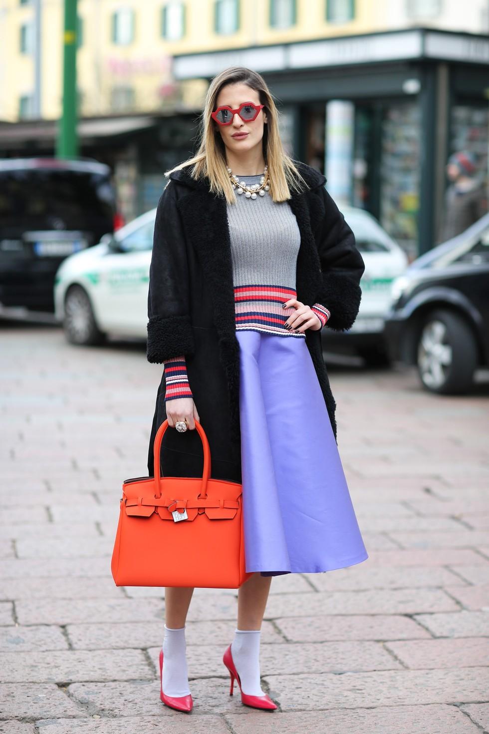 Модные замшевые юбки: с чем носить изоражения
