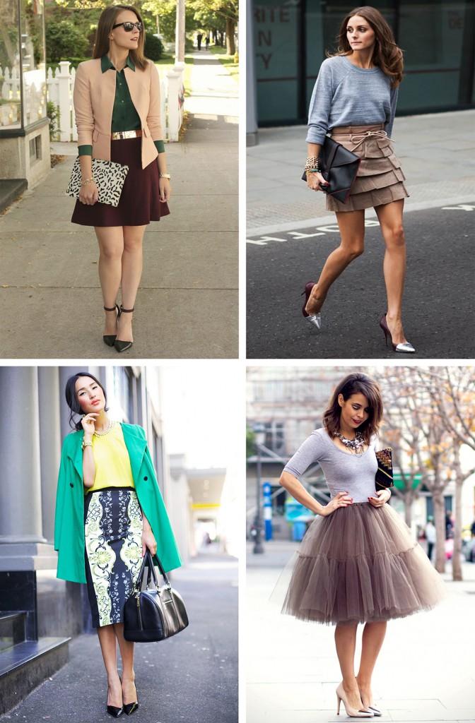 Стильные женские образы с туфлями лодочками
