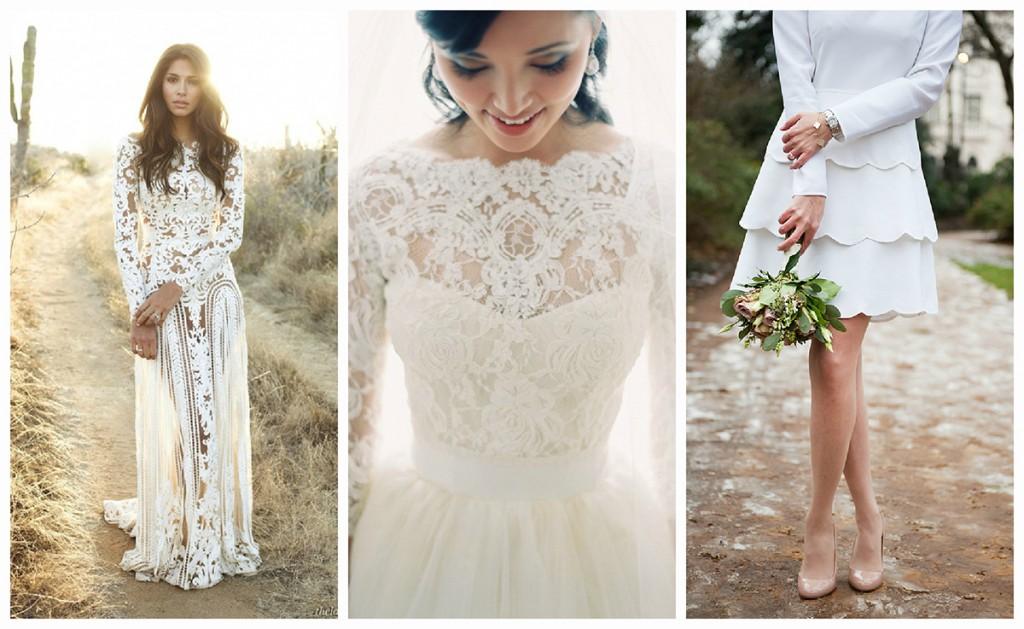 Свадебные платья в викторианском стиле