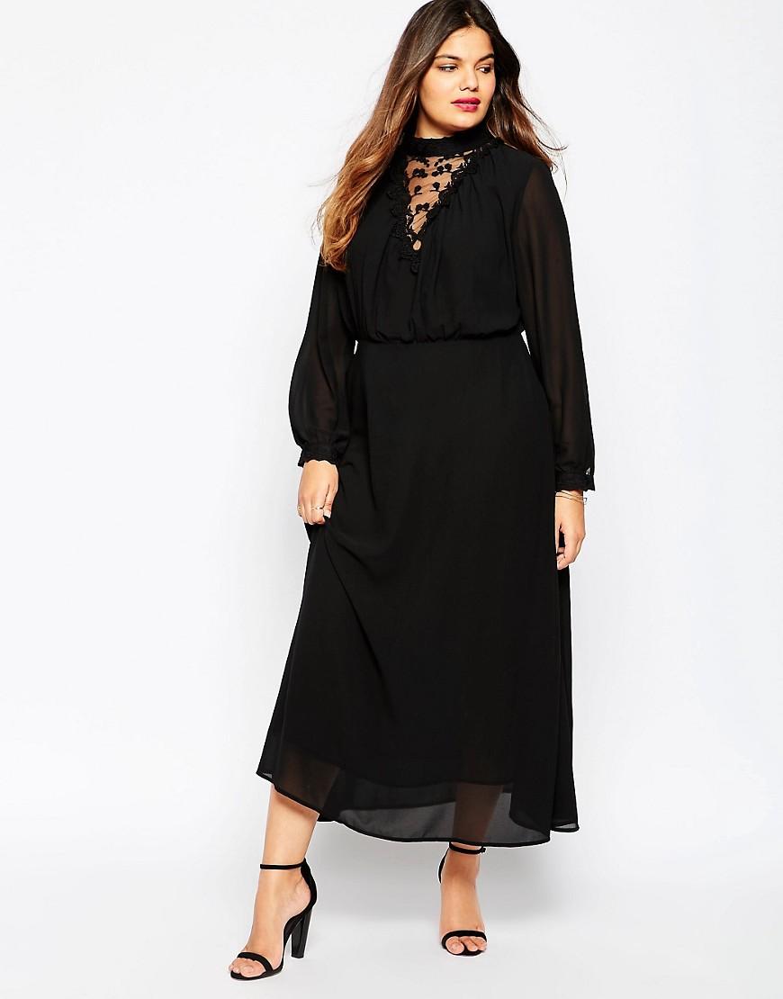 Черное или красное платье викторианского стиля