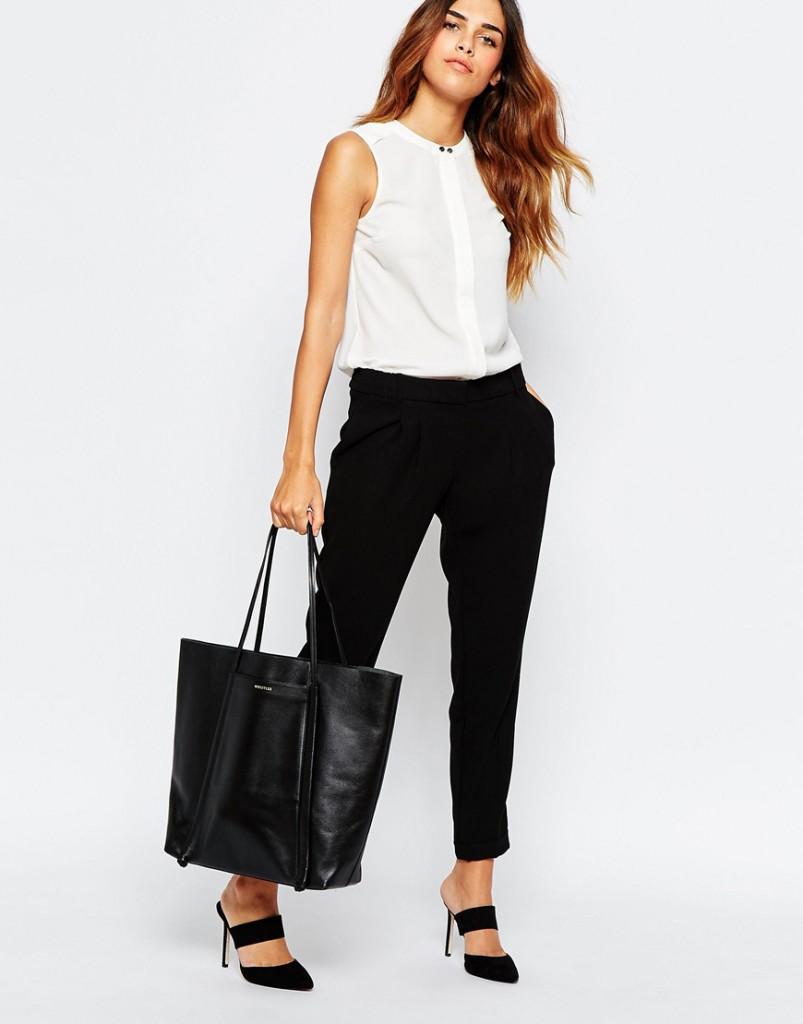 Офисные брюки и блузка