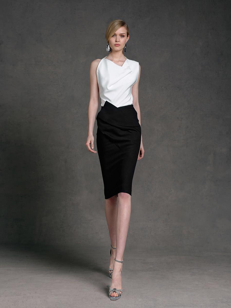 56724629d0b Деловой и офисный стили женской одежды Деловая юбка и блузка ...