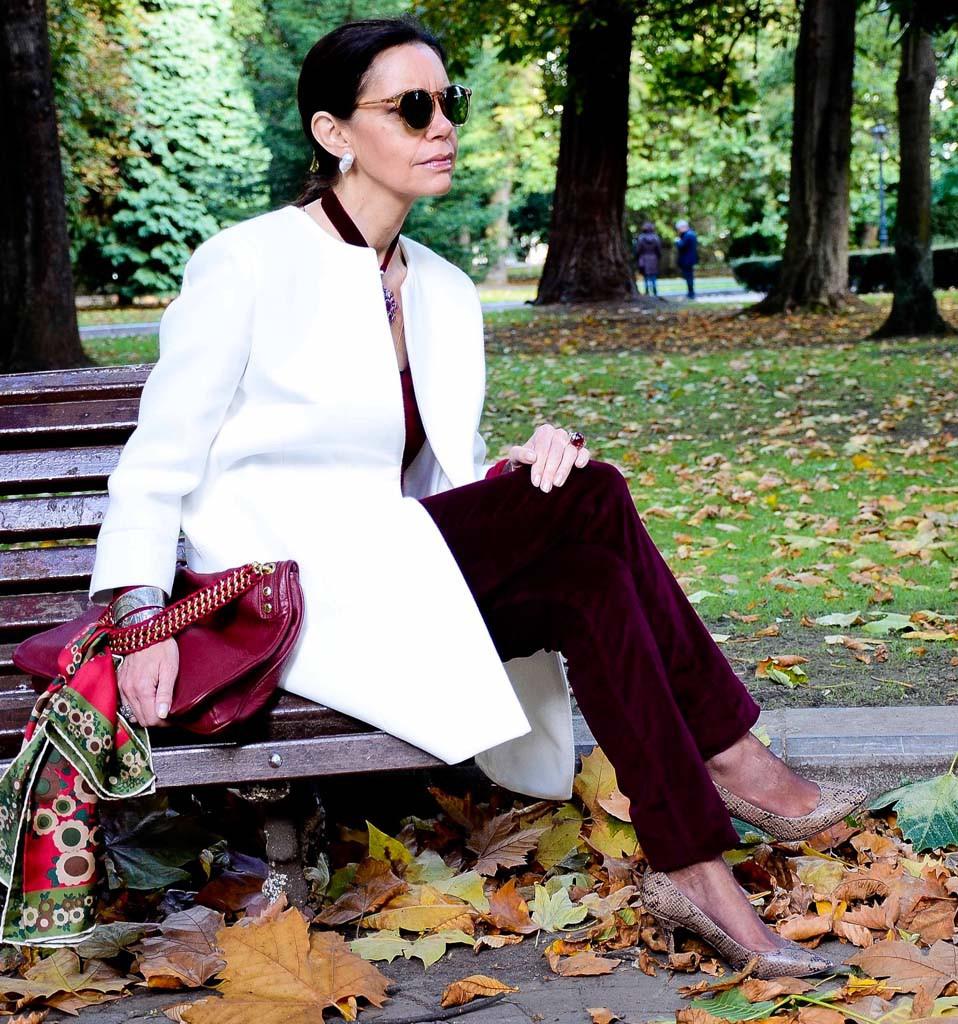 Модный образ для женщины 50 лет