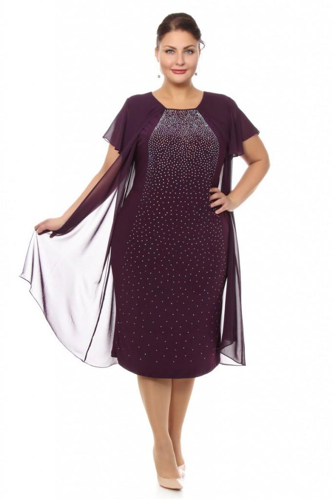Бордовое платье для полной женщины 50 лет