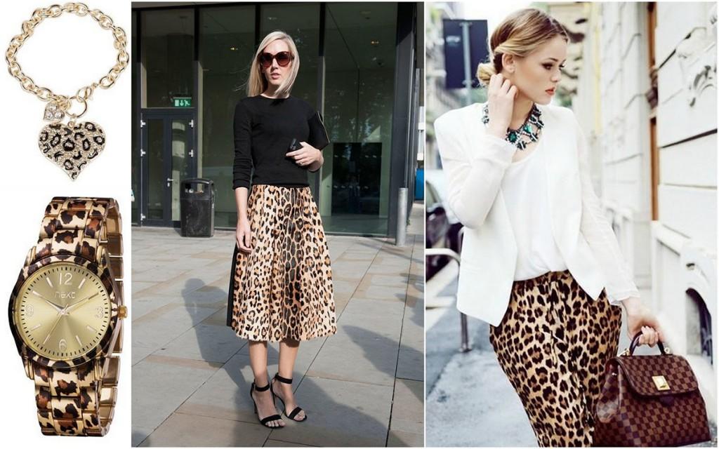 Одежда и аксессуары с леопардовым принтом