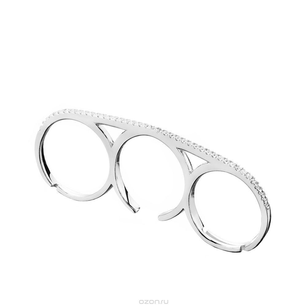 Кольца-кастет на фаланги пальцев с бриллиантами
