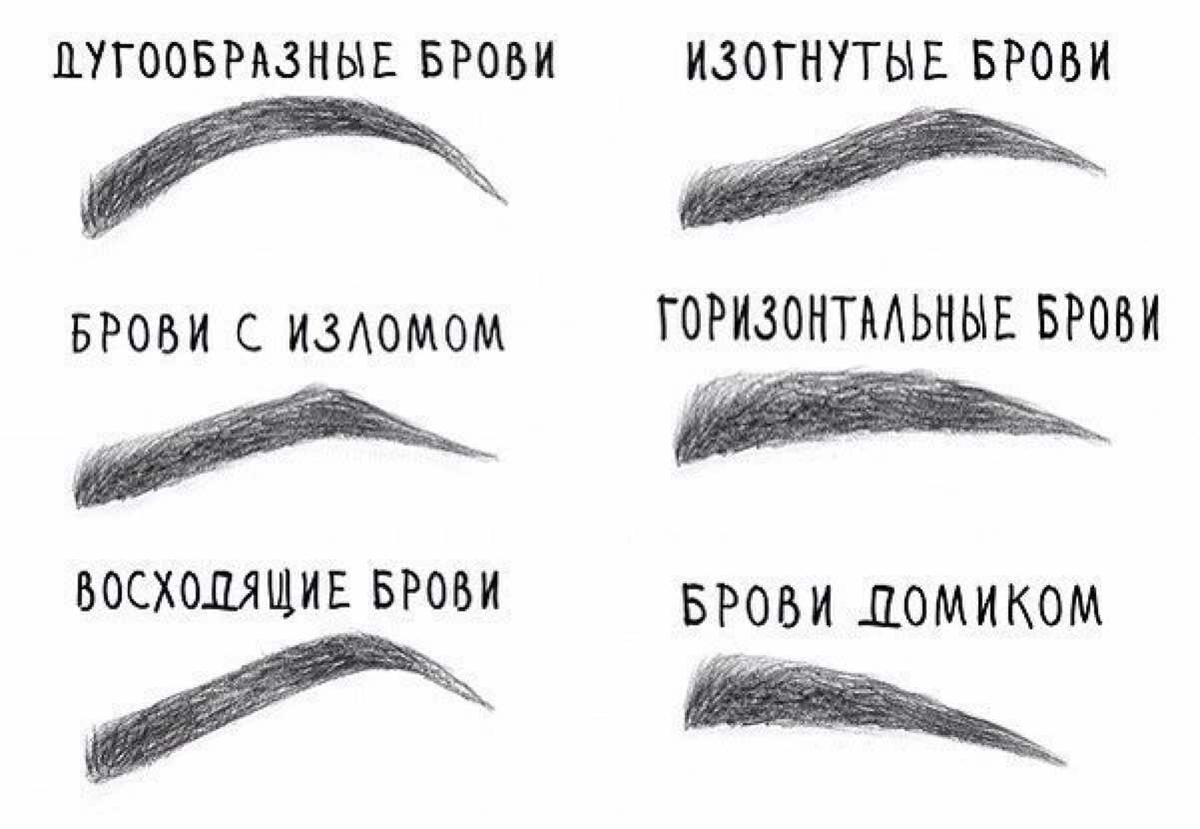 Как сделать красивую форму бровям