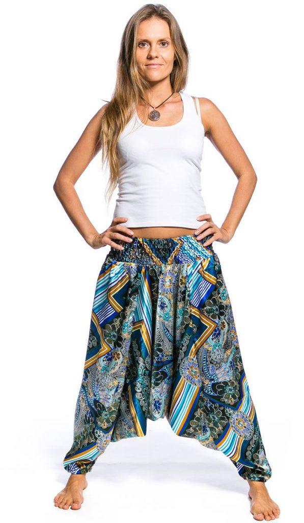 Современные женские штаны в индийском стиле