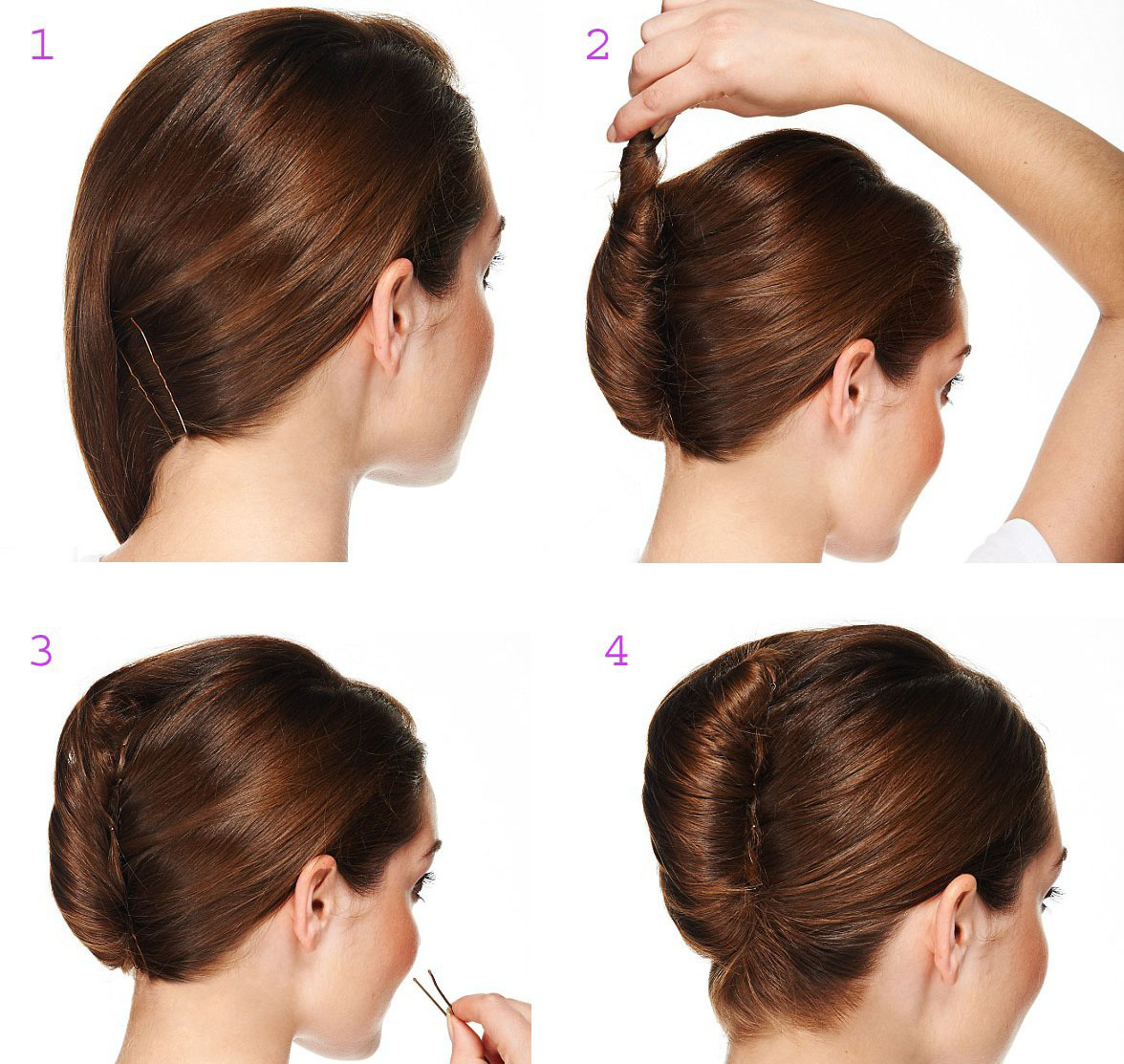 Причёска ракушка как сделать