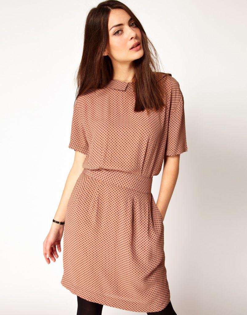 Винтажное платье 40 годов