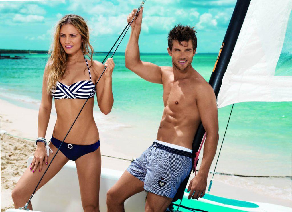 Модные пляжные шорты: стильные мужские и женские модели