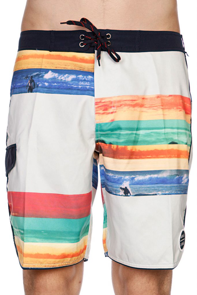 Модные разноцветные пляжные мужские шорты