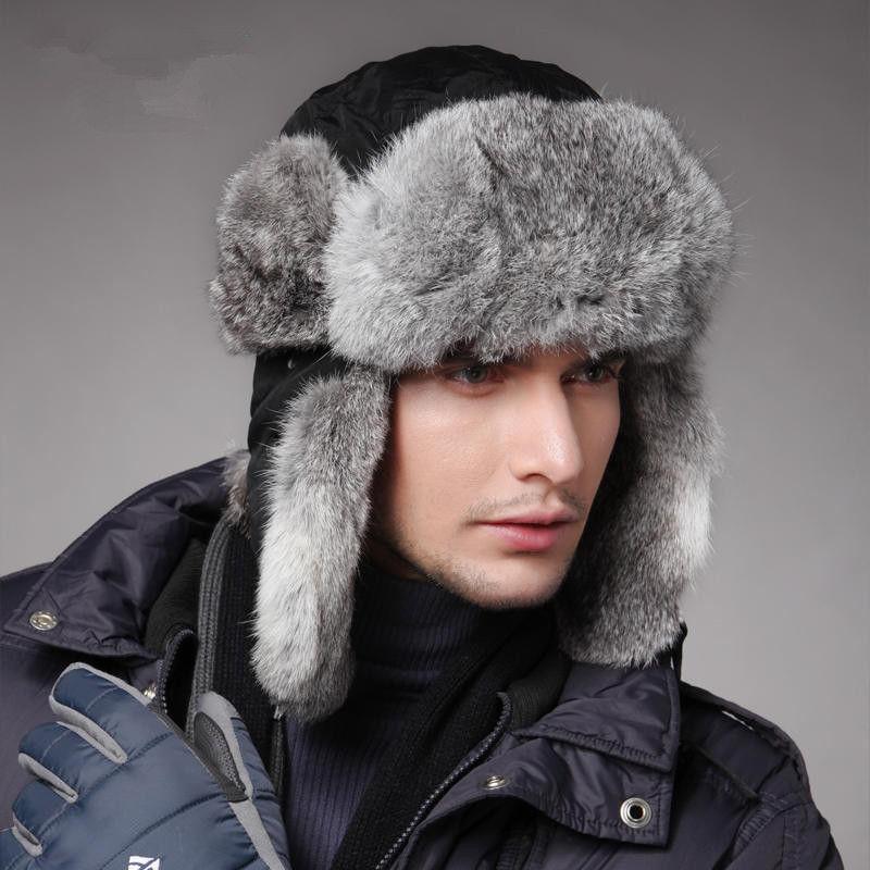 Стильные мужские шапки-ушанки и другие меховые модели