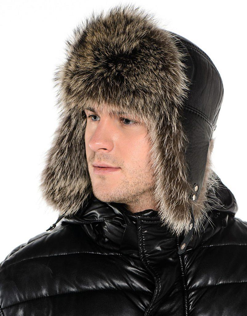 Мужская шапка малахай