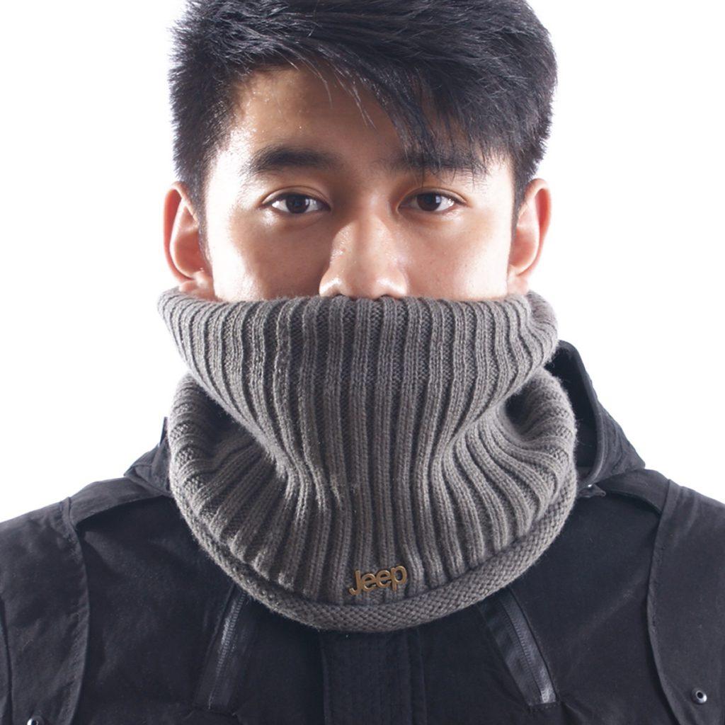 Модный мужской шарф снуд