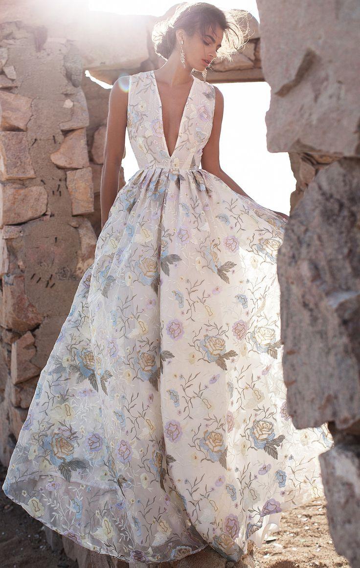 Платья с цветочным рисунком 2016 с чем носить фото тенденции изоражения