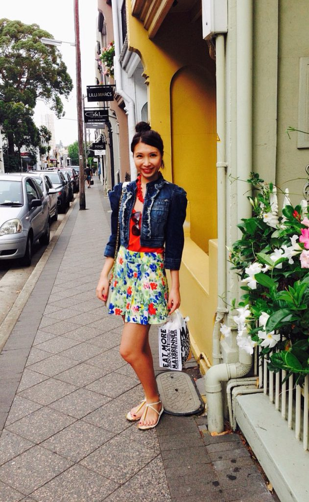 Цветочная юбка с аксессуарами