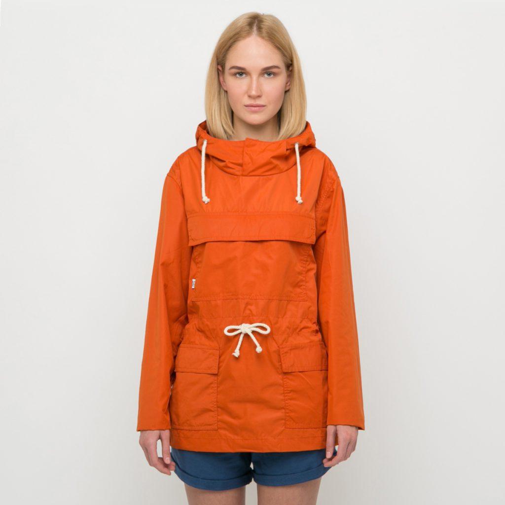 Женский оранжевый анорак