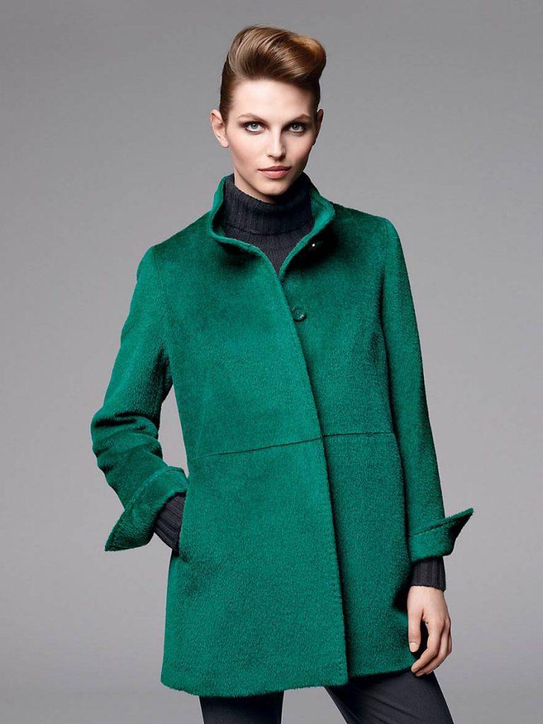 Изумрудное пальто