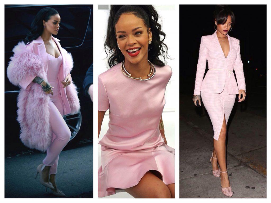 Нежно-розовые комплекты одежды