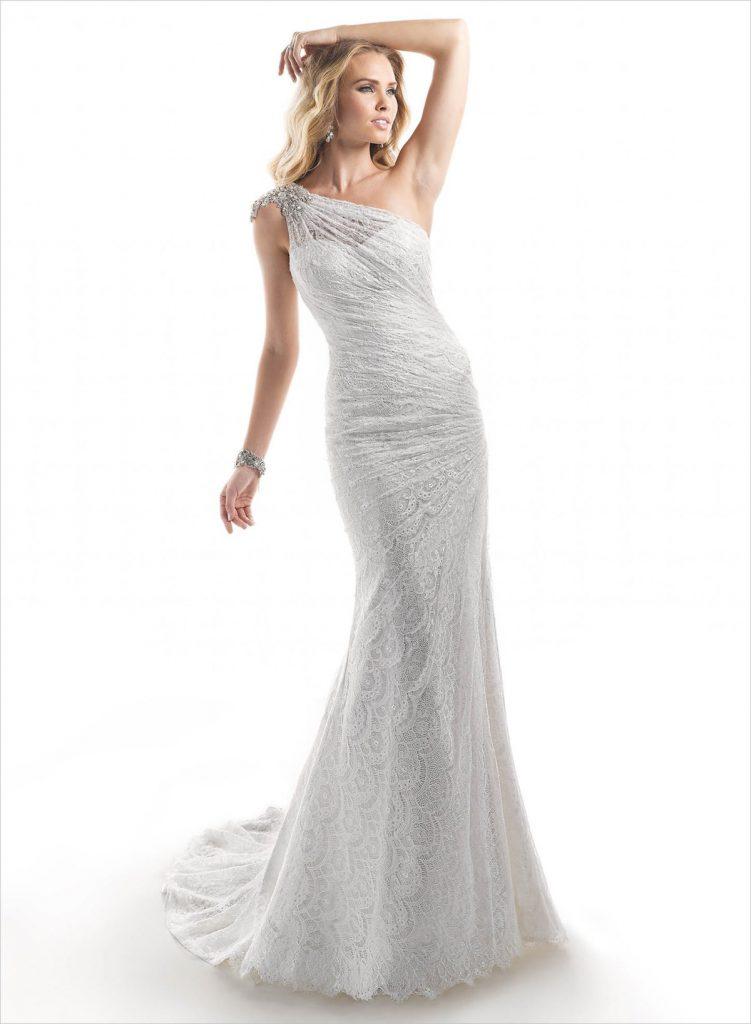 Волнистые локоны к свадебному платью