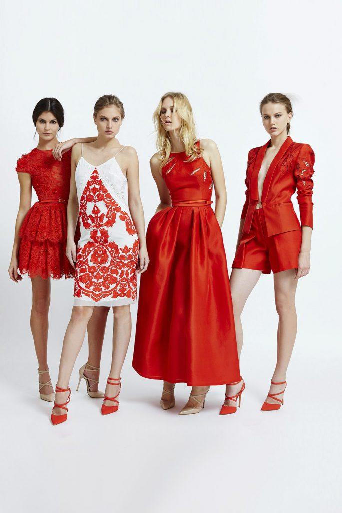 Красно-белые наряды на Новый год