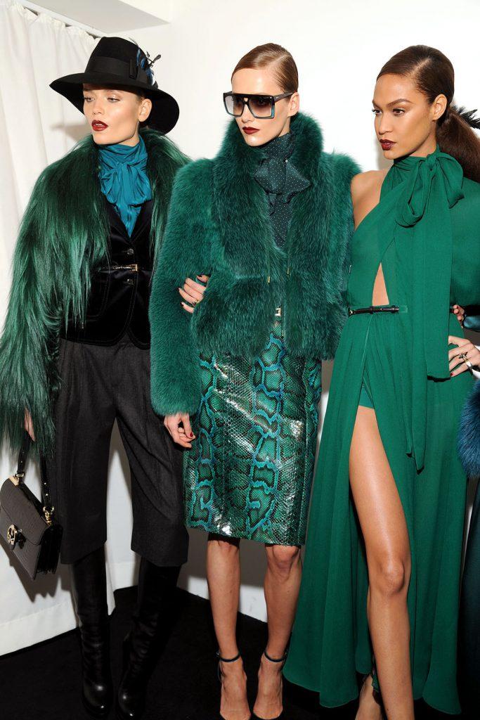 Красивые зеленые наряды