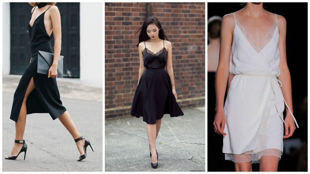 Платья в бельевом стиле