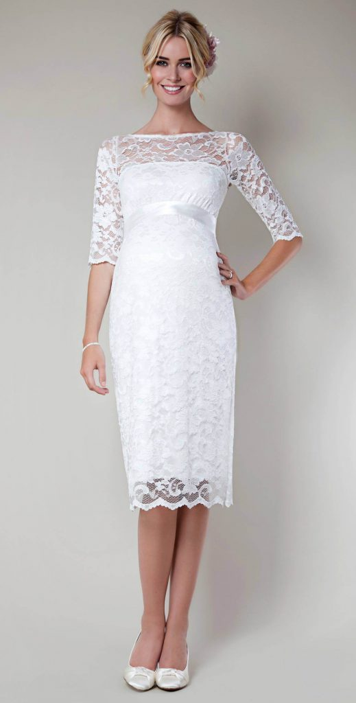 Свадебные белые туфли с платьем