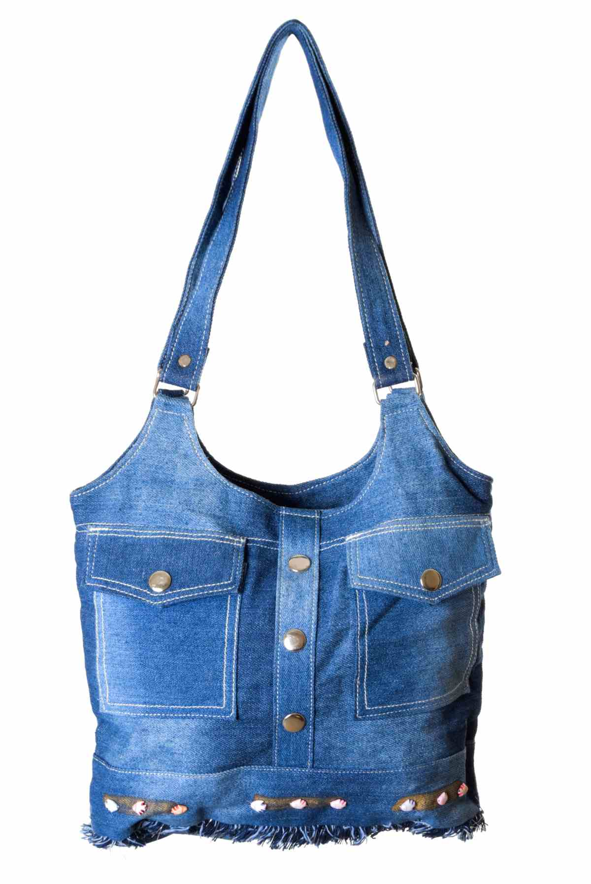 Как из старых джинс сшить модную сумку своими руками
