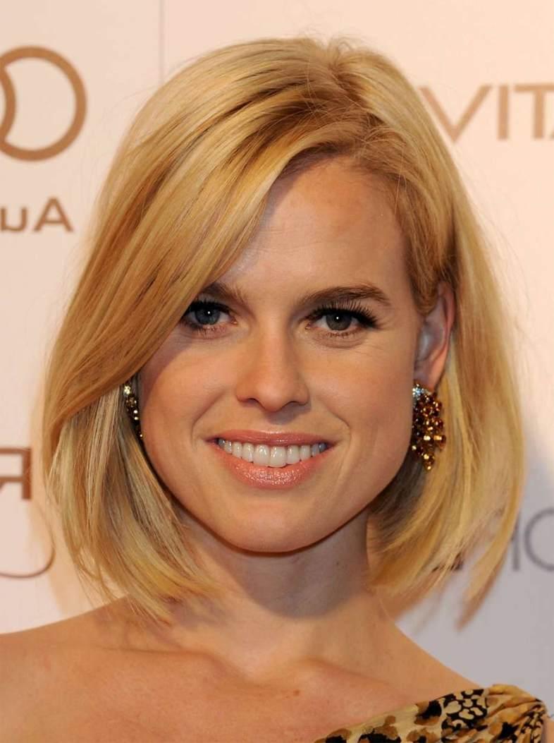 Причёски для квадратного лица женские