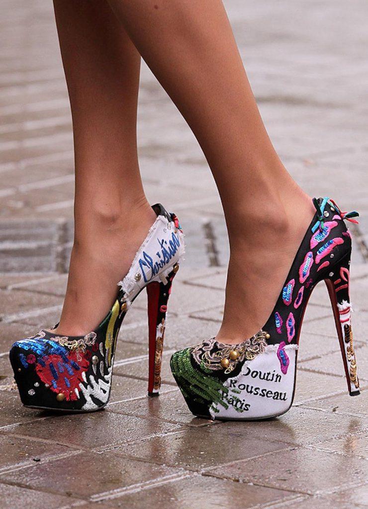 Туфли в стиле swag