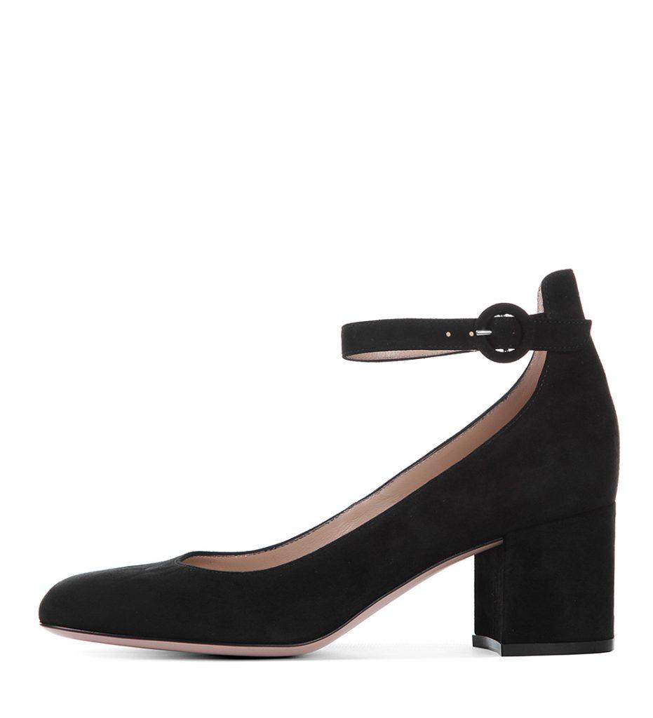Черные туфли Мэри-Джейн с круглым носом