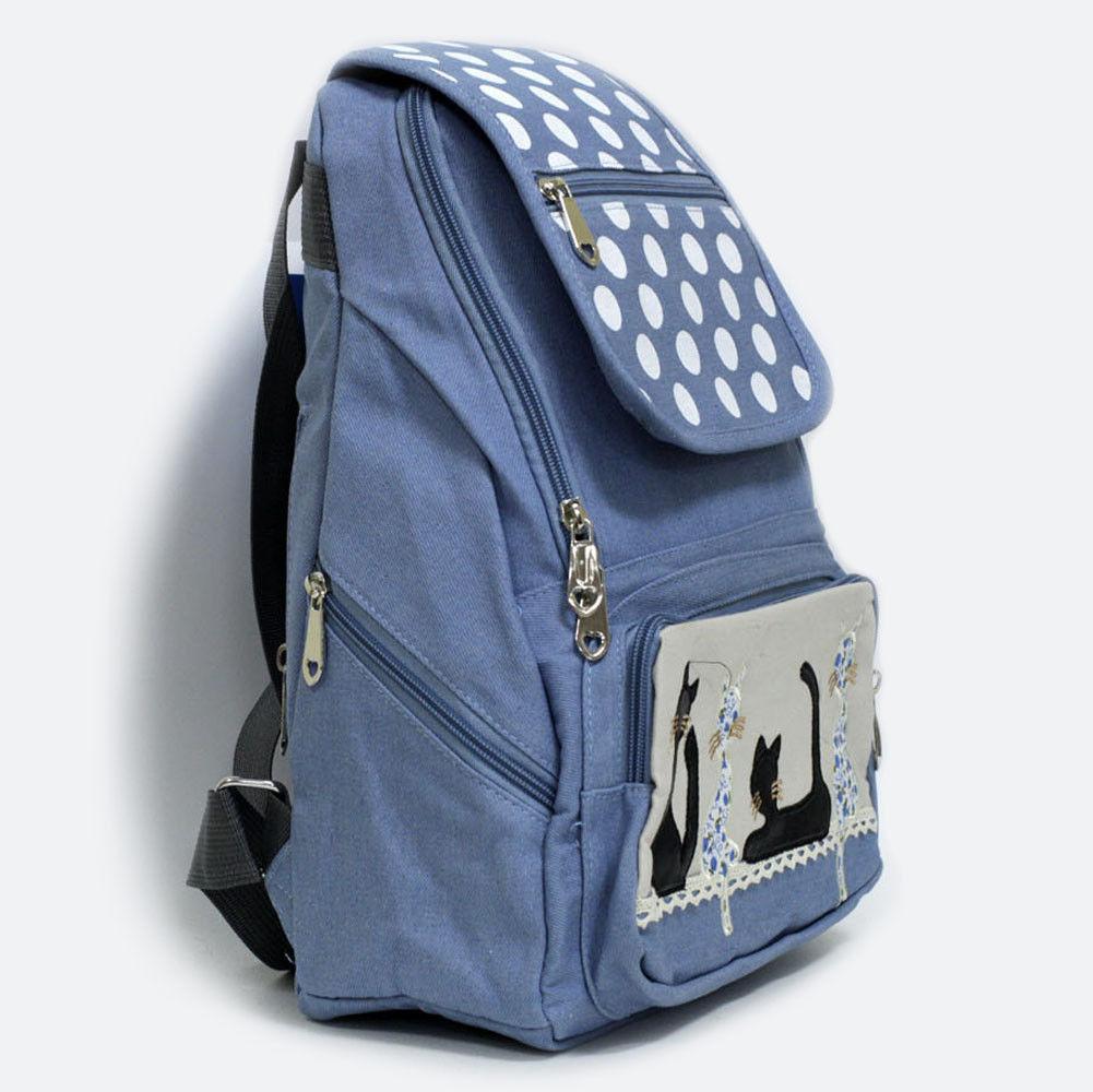 Модный рюкзак из джинсы