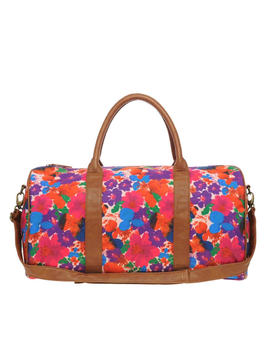Разноцветная женская спортивная сумка